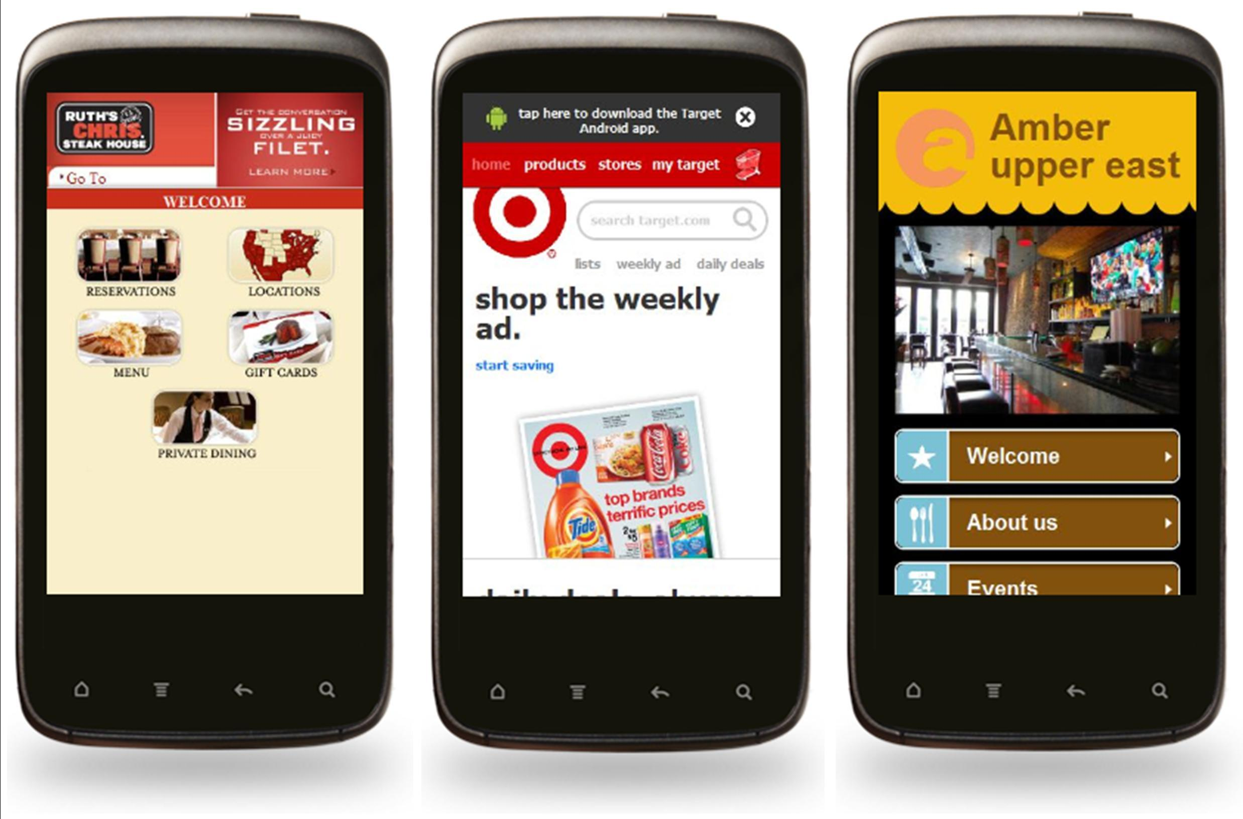 Best mobile sites what are your competitors doing for Mobel website