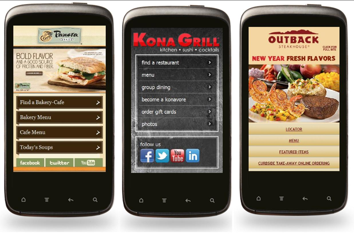 best mobile sites